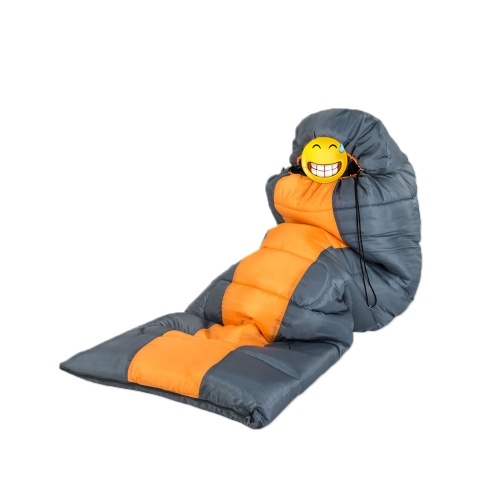 Docooler Sleeping Bag Autumn Winter Envelope Hooded Outside Travel Camping Waterproof Thick, Pleasant temperature: 10 ℃