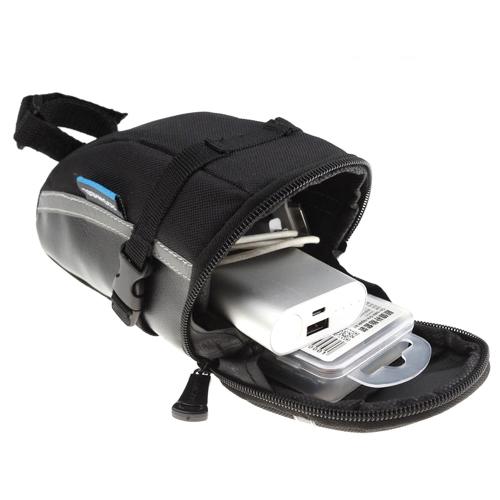 Roswheel Radfahren Fahrrad Satteltasche Tasche Sitzsattel hinten Schwanz Package Black Außen