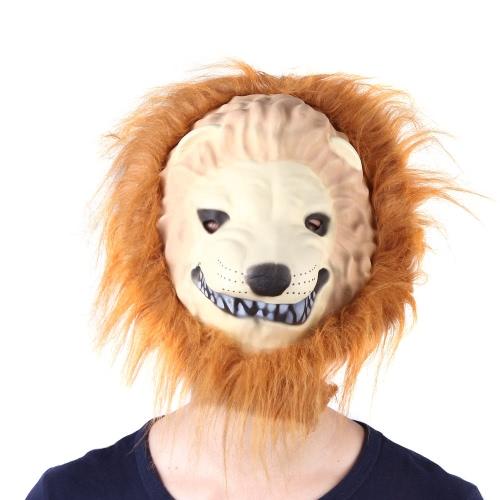 Maschera di re della grande leone di Halloween