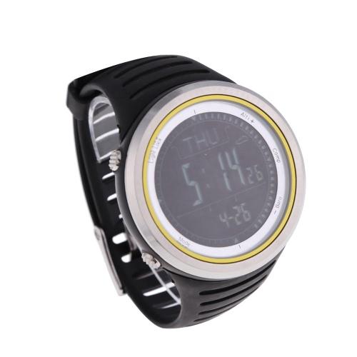 Sunroad FR802A 5ATM impermeabile l'altimetro bussola cronometro pesca barometro pedometro Sport Outdoor orologio multifunzione