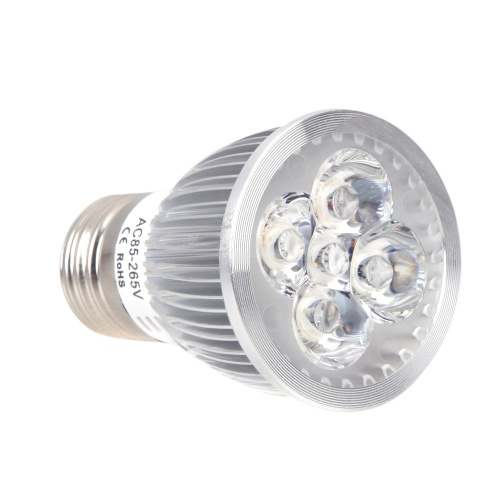 E27 5W LED Plant Grow Light Hydroponic Lamp Bulb Energy Saving 4 Red 1 Blue for Indoor Flower Plants Growth Vegetable Greenhouse 85-265V