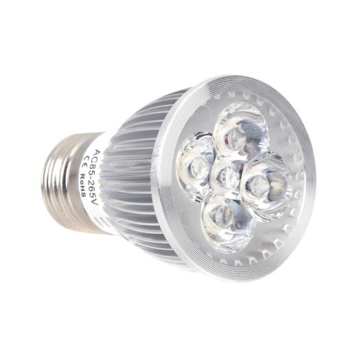 E27 5W светодиодный завод светать гидропонных лампа лампа энергосберегающий 4 синий красный 1 крытый цветок растений рост овощных парниковых 85-265V