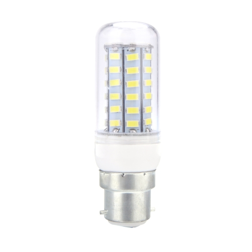 Lixada B22 12W 5730 SMD 56 LEDs Corn Light  Lamp Bulb Energy Saving 360 Degree White 220-240V
