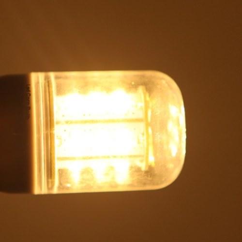 Кукуруза 24 светодиодов SMD E14 5W 5730 свет лампы лампы энергосберегающие 360 градусов теплый белый 220-240V