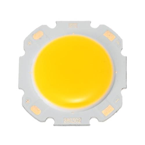 3W Round COB Super Bright LED Chip Light Lamp Bulb Warm White DC9-12V