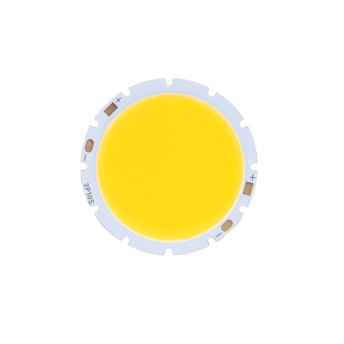 10W Round COB Super Bright LED Chip Light Lamp Bulb Warm White DC32-34V