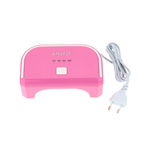 100-240V 12W LED uñas curado lámpara secadora de uñas de Gel uñas herramienta de arte Siempreviva