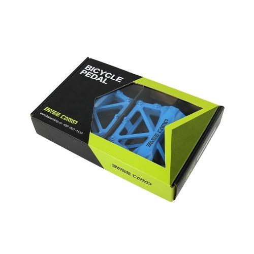 Cuscinetto a sfere BaseCamp MTB pedale bicicletta Road Bike slittare-resistente e ultra-leggero in alluminio lega