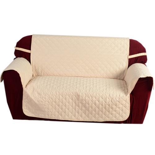 Acolchado microfibra suave sofá cubierta de cojín respaldo funda que cubre alfombra para Protector casero de los muebles