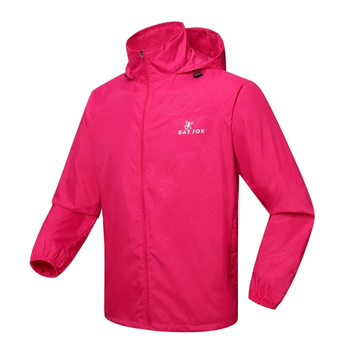 Men Women Sports Jersey Spring Autumn Running Cycling Bicycle Windproof Sleeve Coat Jacket Clothing Hooded Casual Water-resistant