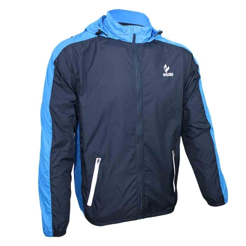 ARSUXEO Men Sports Jersey Spring Autumn Running Cycling Bicycle Vest Windproof UPF 40+ Sleeve Coat Jacket Clothing Casual Water-resistant Polyamides