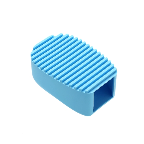 1pc 3 Colors Hand-held Brush Silica Gel Laundry Chores Mini Cleaning Brush Cleaning Tools Make Up Cleaning Brush Washboard Blue