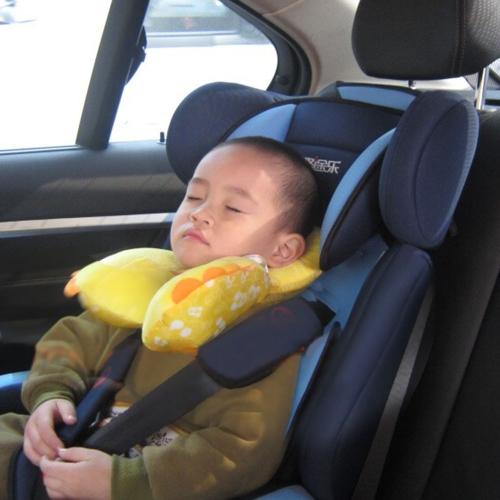 0-12 месяцев мультфильм Baby Уход подушки младенца безопасности сиденья подголовник Baby путешествия подушка для длительного диск дальней плоскости, коляски и т.д.