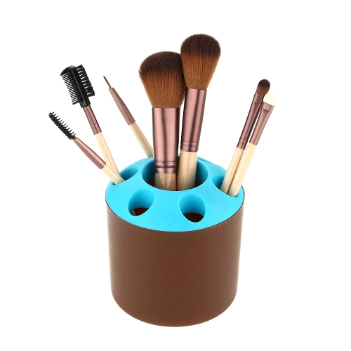 Hot Creative Multi-color Makeup Brush Pot Multi-function Desk Storage Pot Display Stand Office Supplies Toothbrush Holder