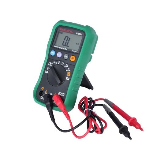Palm tamanho MASTECH MS8239C Auto variando de Multímetros digitais de w/frequência capacitância & teste de temperatura
