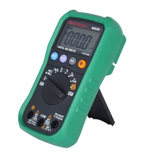 Размер пальца MASTECH MS8239C Автоматическое изменение цифровых мультиметров