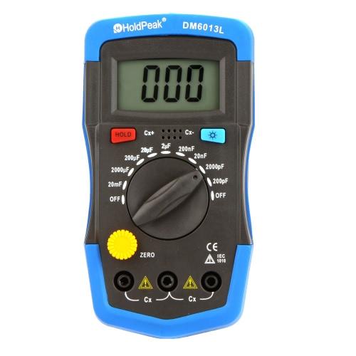 DM6013L Misuratore di capacità digitale a mano