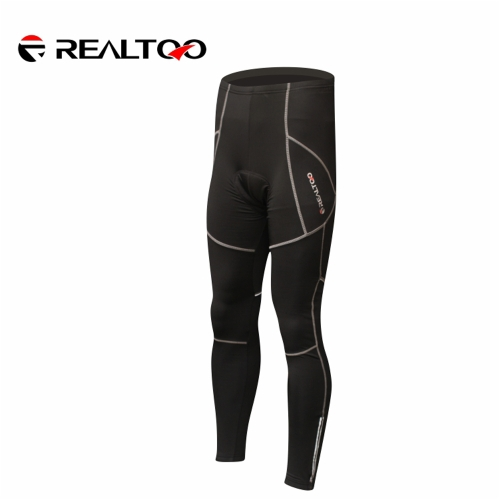 Männer Fahrradbekleidung Schutz Hip Pad Gepolsterte Thermal Winter warme Vlies lange Hosen Sportswear Fahrrad Outdoorhose Luftbar