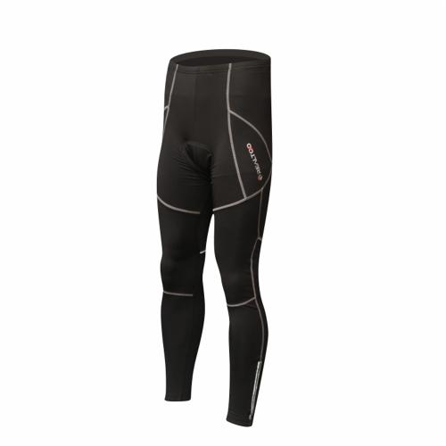 Ciclismo abbigliamento protettivo dell'anca Pad termico invernale imbottito caldo pile lungo pantaloni Sportswear biciclette bici all'aperto pantaloni uomo traspirante