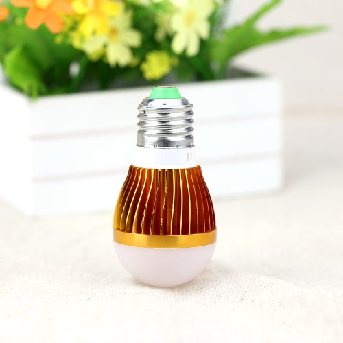 3W E27 LED burbuja bola globo lámpara bombilla ahorro de energía luz de alto brillo 110V-245V