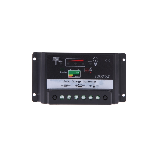 Protección contra sobrecarga 15A 12V/24V Regulador Solar Auto regulador Panel Solar celular lámpara carga batería LED alumbrado