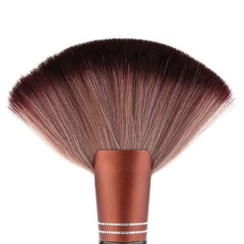 Hair Cutting Neck Duster Brush for Hair Stylist Professional Barber Cleaning Tool with Wood Handle Salon Stylist Barber
