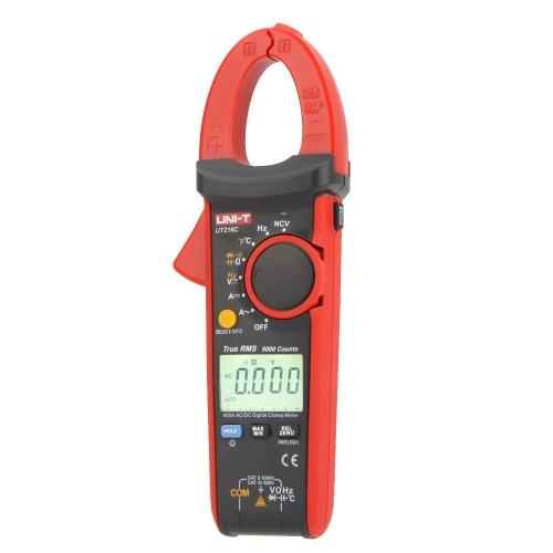 UNI-T UT216C 600A True RMS Digital Clamp Meter Auto Bereich w/Frequenz Kapazitiv Temperatur & NCV-Test