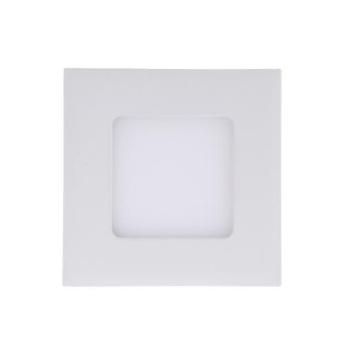 3W Platz LED vertiefte Decken-Instrumentenbeleuchtung unten Lampe Ultra Thin Helle für Wohnzimmer Badezimmer Schlafzimmer Küche AC85-265V