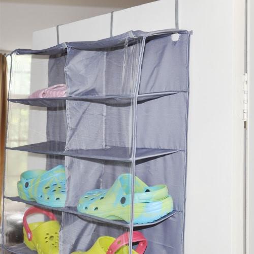 13 Regal 26 Gitter Hangen Schuhe Kleiderschrank Faltbarer Schuhe Lagerbehalter Box Bag Hangende Beutel 160 56 16 Cm