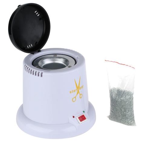 Nail Art Steam Autoclave Scissor Manicure Sterilizer Machine with 150g Disinfection Glass Bead 220V EU Plug