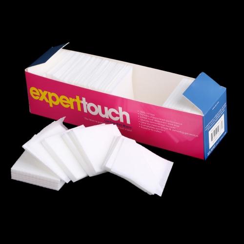 325pcs / pack Weiche Nagellackentferner Nail Polish Remover reinigen Wischen Cotton Baumwolle weiße Lint Free Nail Wipes Nägel