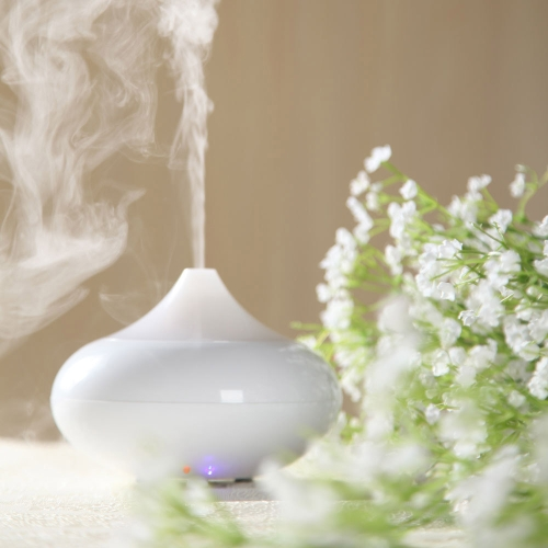 Anself Ultrasonic Air Humidifier Aroma Oil Difusor Ionizer Generador Aromaterapia Oficina Purificador Mist Maker 12W