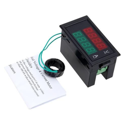 AC Digital Ammeter Voltmeter