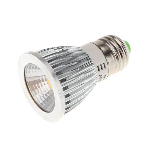 E27 7W COB светодиодные света лампы лампы высокой мощности энергосберегающих 85-265В