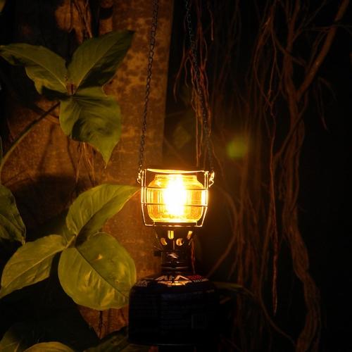 Tragbare Mini Camping Laterne Gas Light Tent Lampen Fackel Hängende Glaslampe Kamin Butan 100LUX