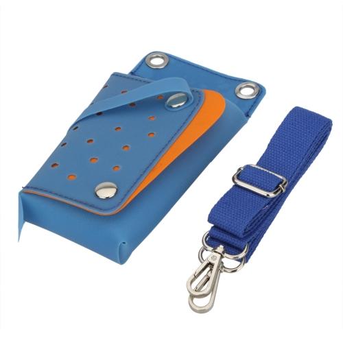 ТПУ ножницы мешок желе волос ножницами Pack гребень клип Парикмахерская Парикмахерские инструменты талии сумку