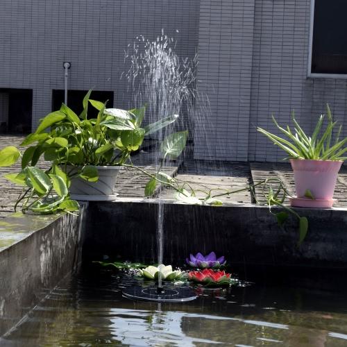 Solar-power Fountain Brushless Pump Plants Watering Kit with Monocrystalline Solar Panel for Bird Bath Garden Pond  Energy-saving Environmental-friendly Universal