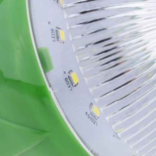 Luce Solare a LED con 2pcs Lampadina 5W Lampada Sistema di Illuminazione Pratico per Usare in Cortile o in Campeggio all'Aperto