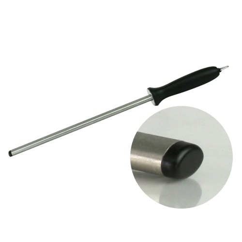 TAIDEA 600# Diamond Steel Sharpening Rod with ABS Handle Knife Sharpener for Kitchen Knives 10