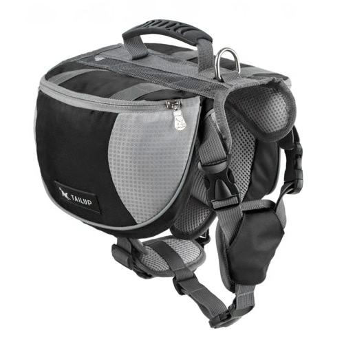 ПЭТ Pack собака седло рюкзак средних и крупных больших собак мешок для Открытый Пешие прогулки Кемпинг обучение