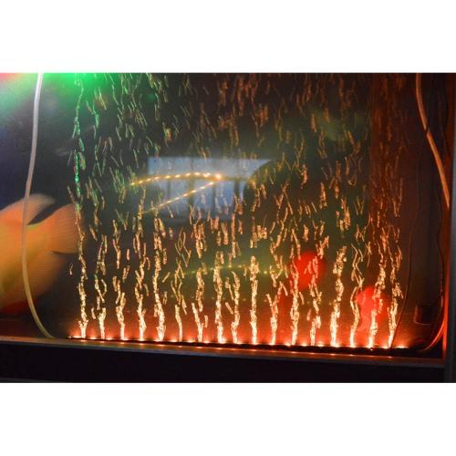 31cm 4.1W 12 LEDs Blase Aquarium Licht 120 Grad RGB 15Colors IP68 Submersible Remote Control Fisch Tank LED Lichtleiste