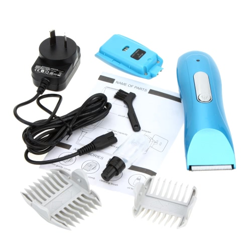 100-240V Professional Low Noise Electric Rechargeable Pet Animal Dog Cat Clipper Hair Trimmer Hairdressing Tool