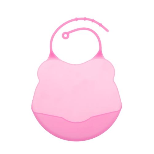 Водонепроницаемый силиконовый Детский нагрудник Мягкие Симпатичные нагрудники для младенцев Дети Фартук Слюна Полотенце