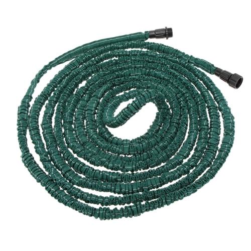 Anself Flexible Expandable Ultralight Garden Watering Hose Magic Pipe Dark Green 100FT