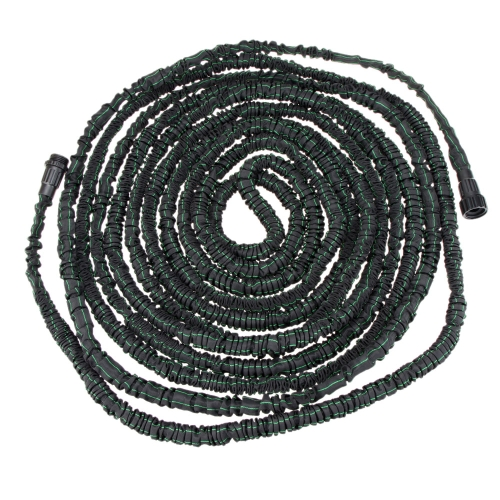 Anself Flexible Expandable Ultralight Garden Watering Hose Magic Pipe Black and Green 100FT