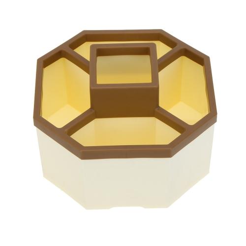 Модная восьмиугольная коробка для хранения Ручки Ключи Телефон Контейнер Держатель Организатор для использования в офисе или дома