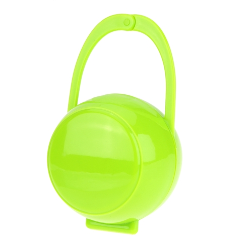 Baby Infant Pacifier Storage Box Nipple Case Paci Cradle Portable Holder Green