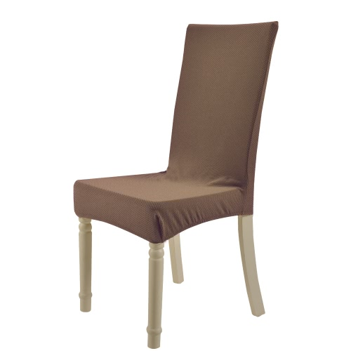 High Quality Soft Polyester Spandex Chair Cover Slipcover Blue