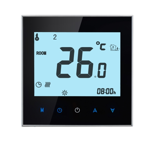 16A 110-230 v pro programmierbare LCD-Display Touch Screen elektrische Heizung Thermostat Raumtemperaturregler