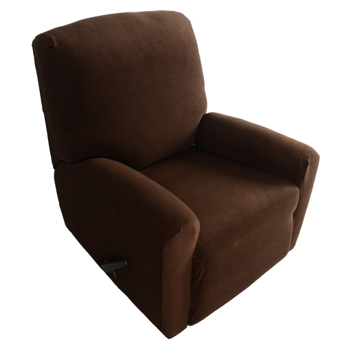 Anself Elastic Soft Polyester Spandex One Seater Recliner Cover (4pcs/set)
